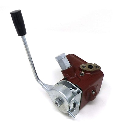 HYDRAULIC VALVE WITH HANDLE