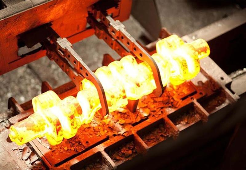 Hot-forging-crankshaft